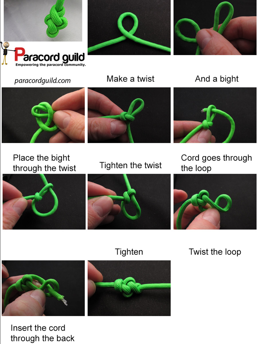 eternity knot instructions