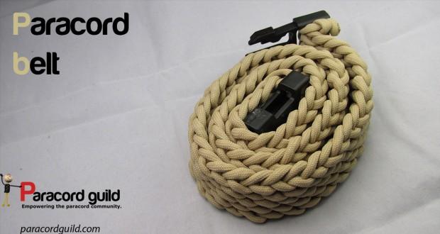 paracord belt