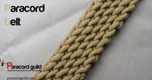 paracord belt design