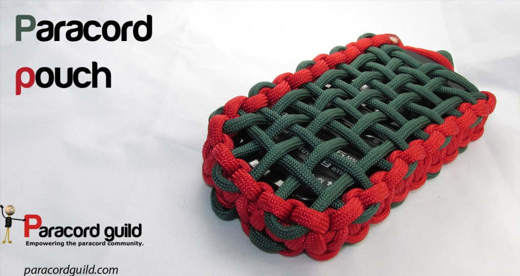 Paracord Pouch Project | Paracord Projects, Knots, And Ideas To Make On Your Own | Paracord Knots For Beginners