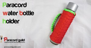 paracord water bottle holder