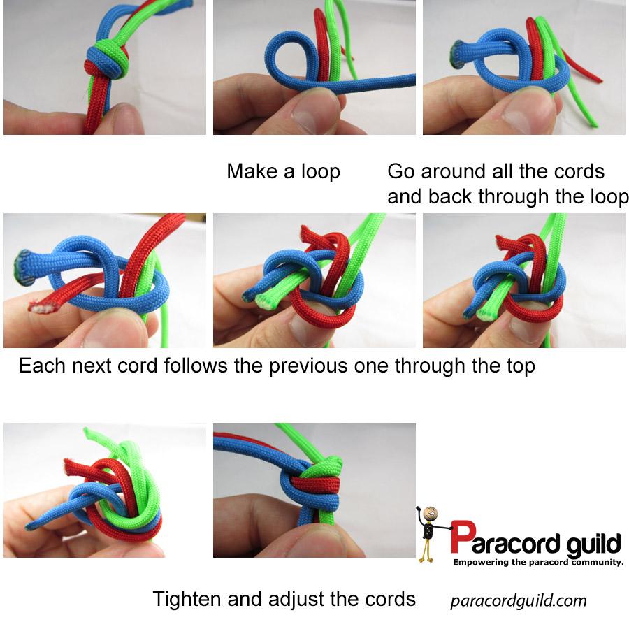 double matthew walker knot instructions