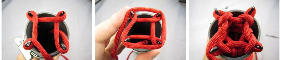 four peg spool knitting