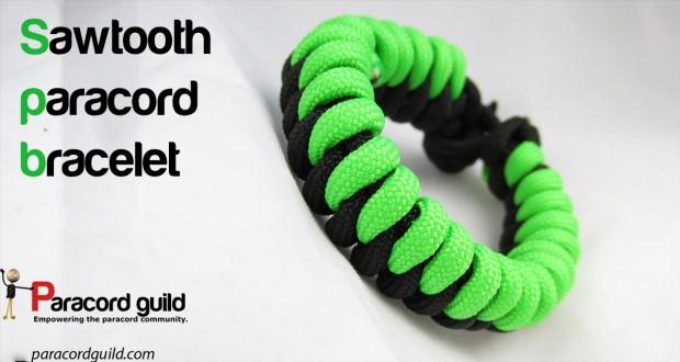 sawtooth paracord bracelet