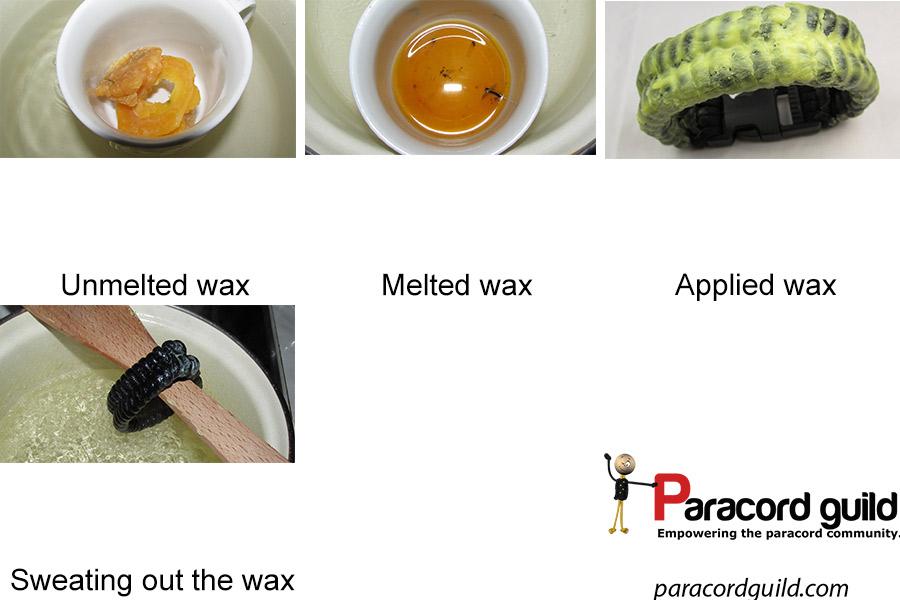 waxing paracord