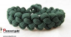 single color zipper sinnet bracelet