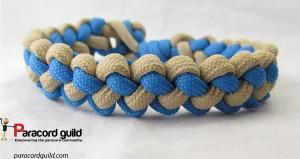 two color zipper sinnet bracelet