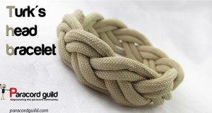 turks head paracord bracelet