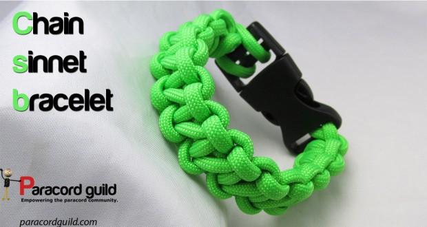 chain sinnet paracord bracelet