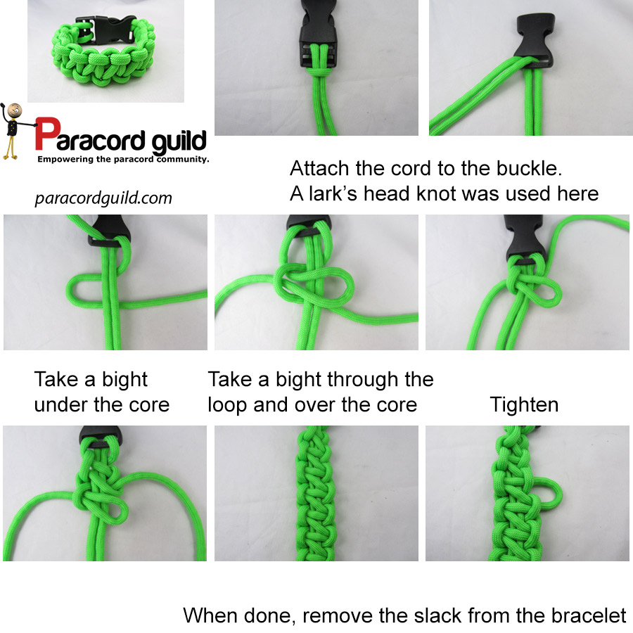 chain sinnet bracelet tutorial