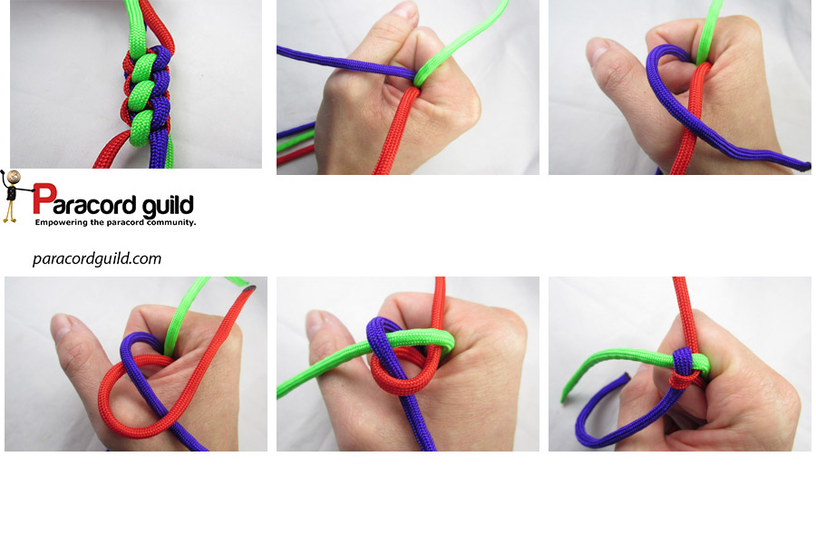 how to tie a crown knot