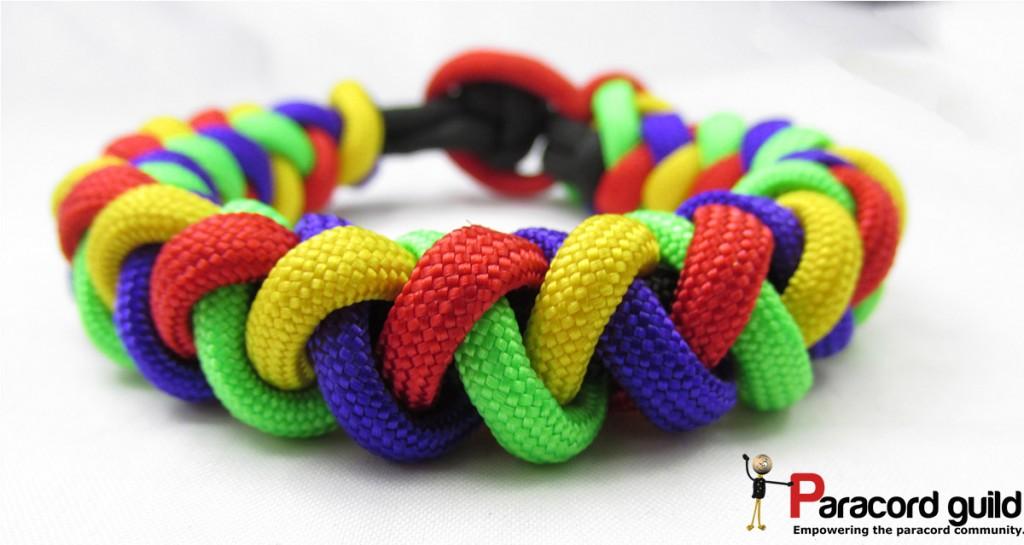 paracord braided bracelet