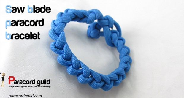 saw blade paracord bracelet