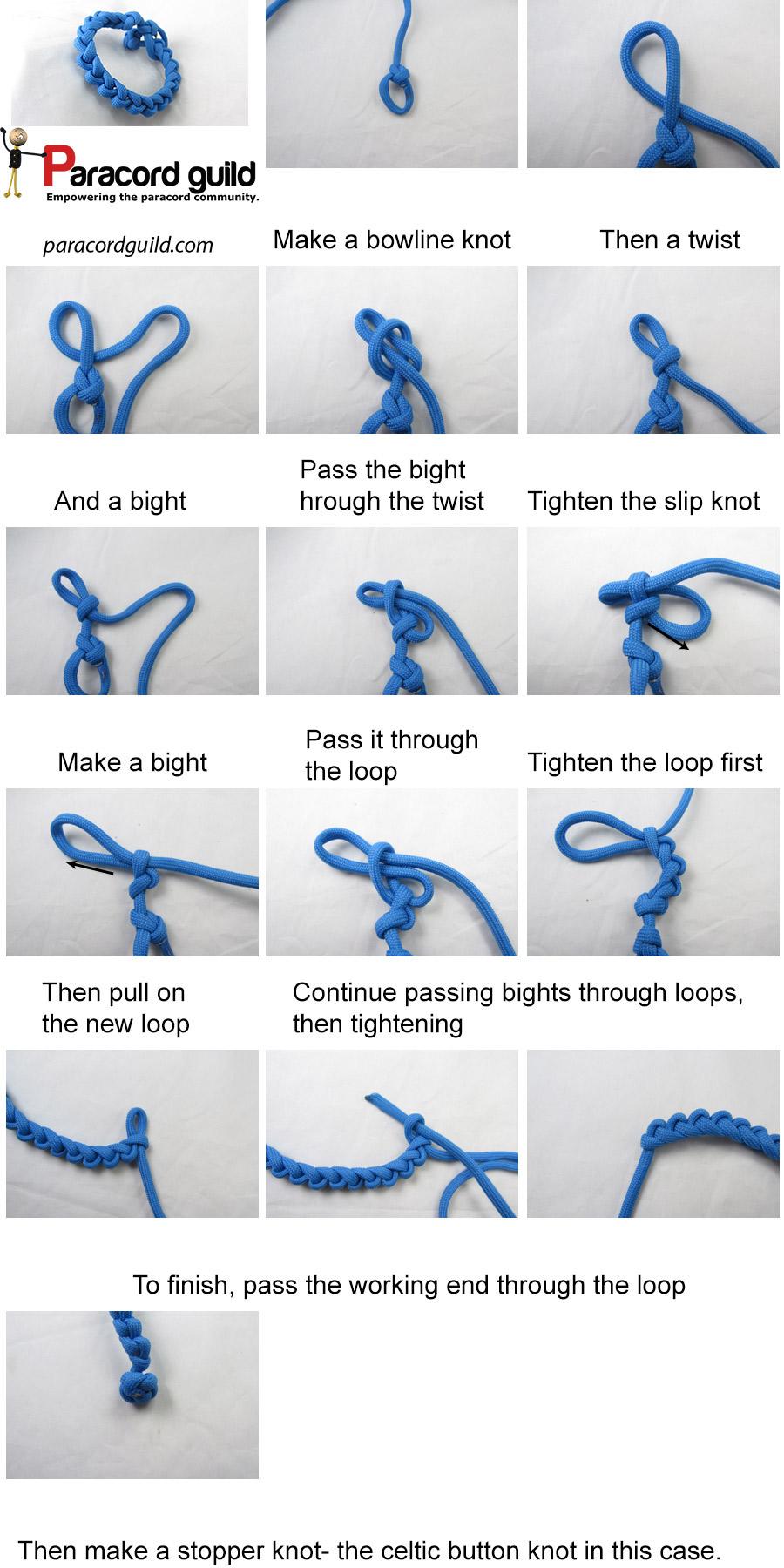 saw blade paracord bracelet tutorial