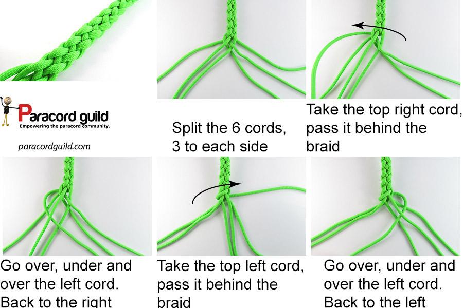 6 strand round braid tutorial