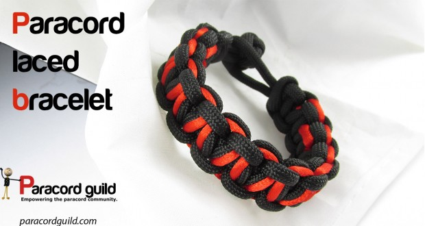 paracord bracelet with a lace