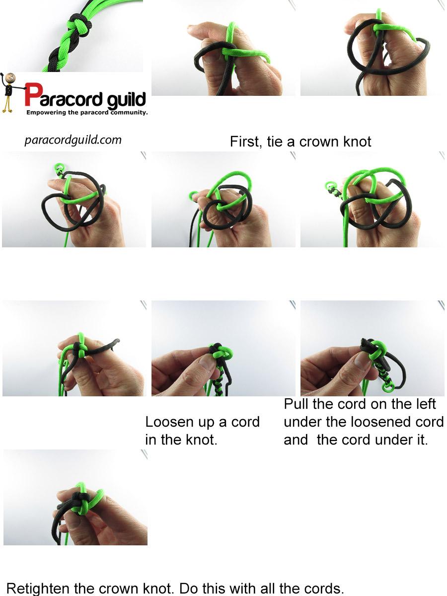 turks head terminal knot tutorial