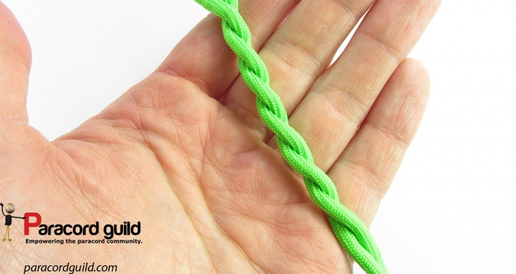 Twisted rope stays twisted, even when you are not holding the ends.
