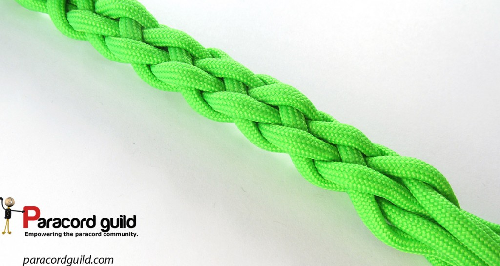 Another look at the braid without a core.