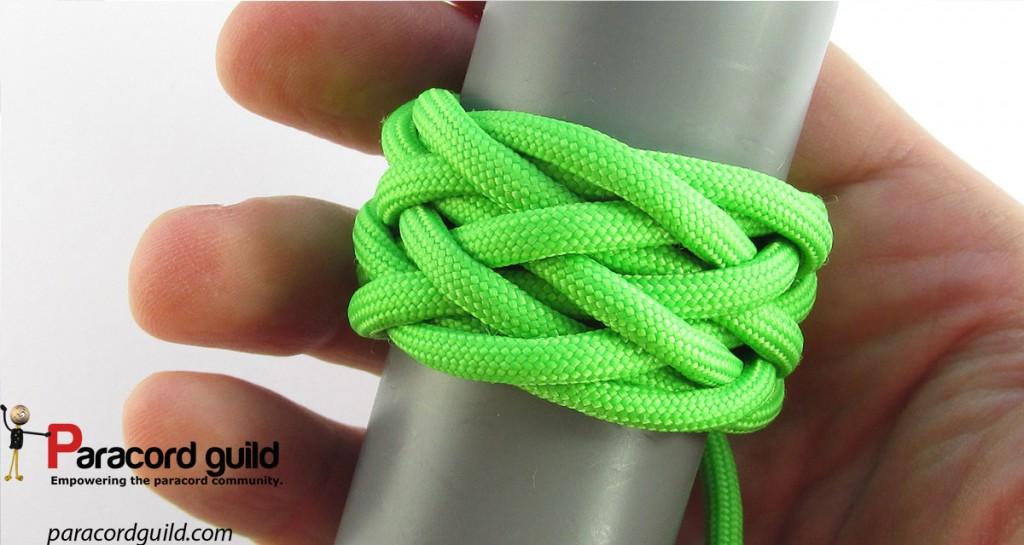 gaucho-knot-on-a-mandrel