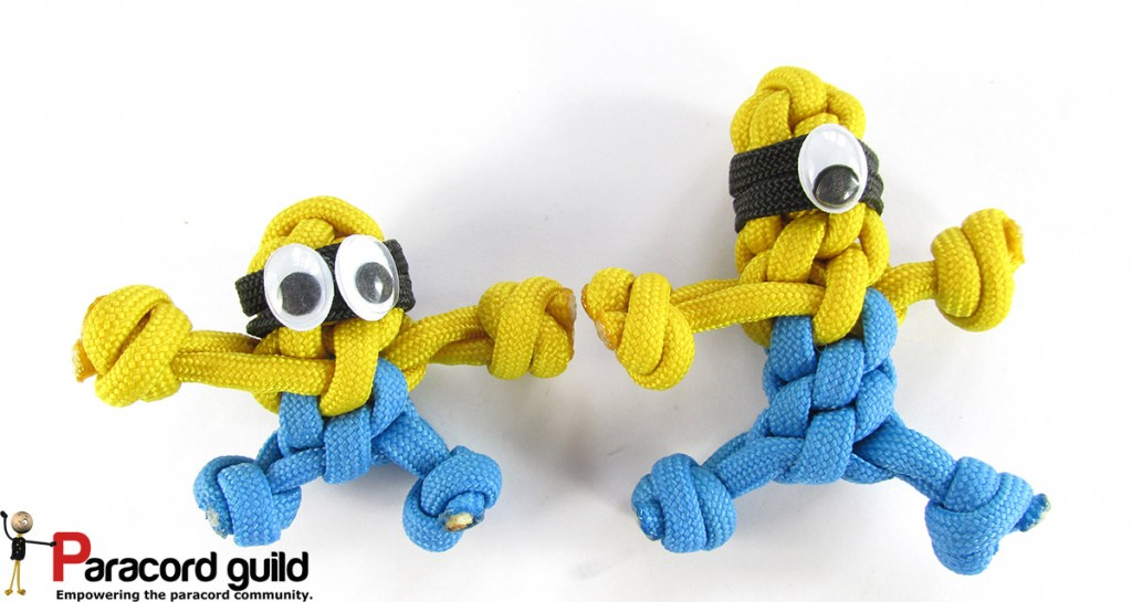 Minions can be made using different sizes and using one or two eyes.