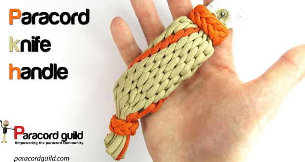 paracord knife handle