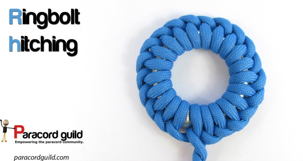 riingbolt hitching using the half hitch