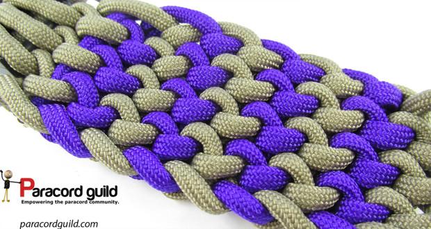 2 color conquistador braid