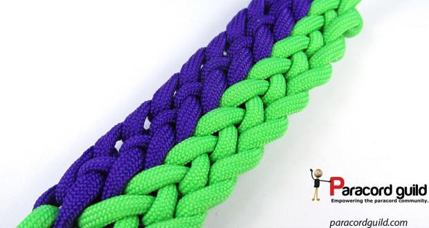 2 color conquistador braid gemini pattern