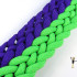 2 color conquistador braid gemini pattern