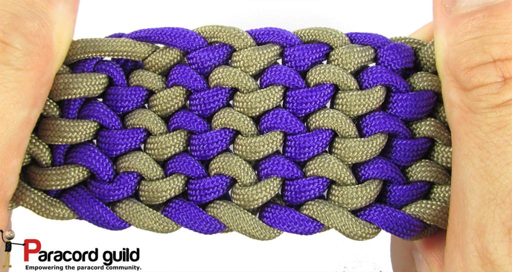 two color conquistador braid
