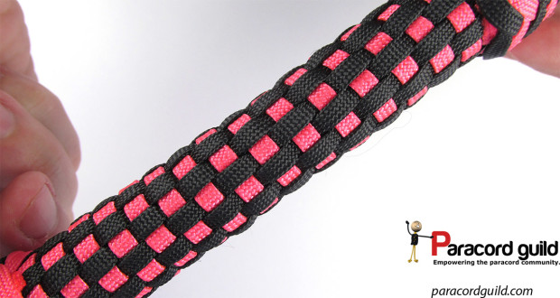 grafting a paracord handle wrap