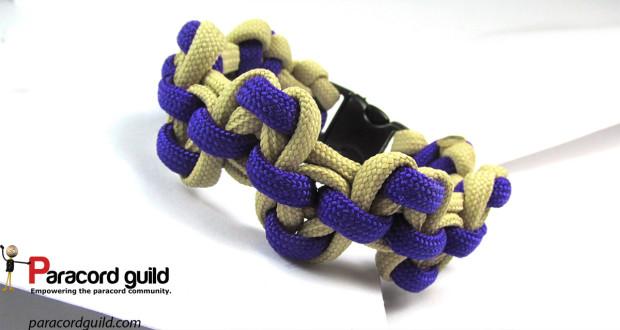 serpents river bar paracord bracelet