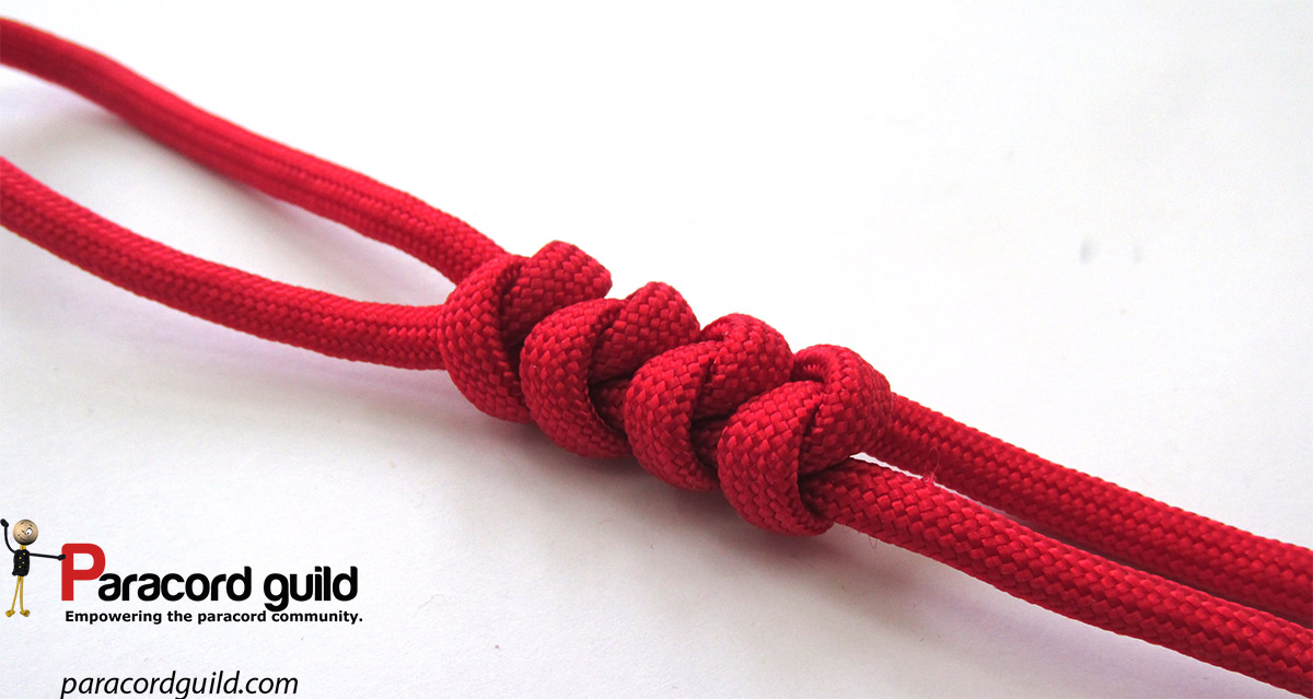 2 Strand Wall Knot Paracord Guild