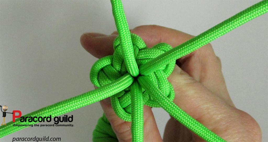 multiple strand star knot