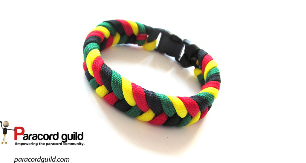 rasta-fishtail-paracord-bracelet