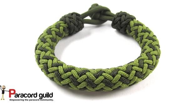 hansen knot paracord bracelet