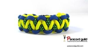 solomons dragon paracord bracelet