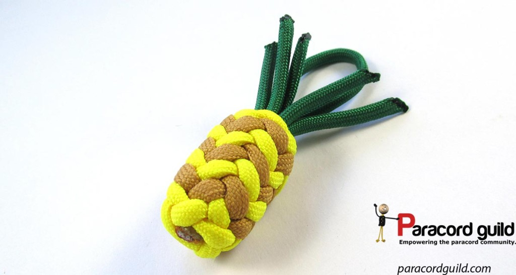 decorative-paracord-pineapple