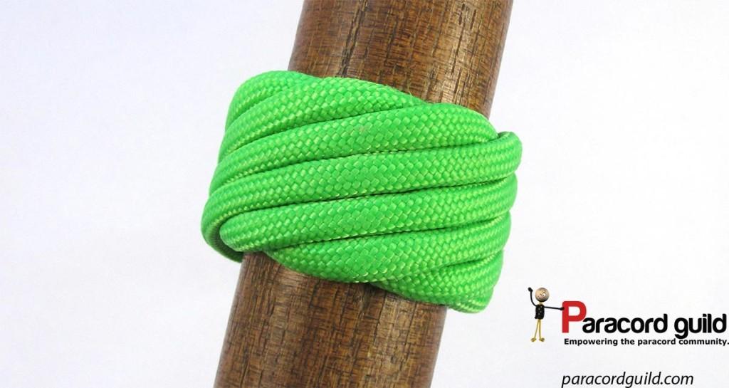 single-strand-matthew-walker-knot-green