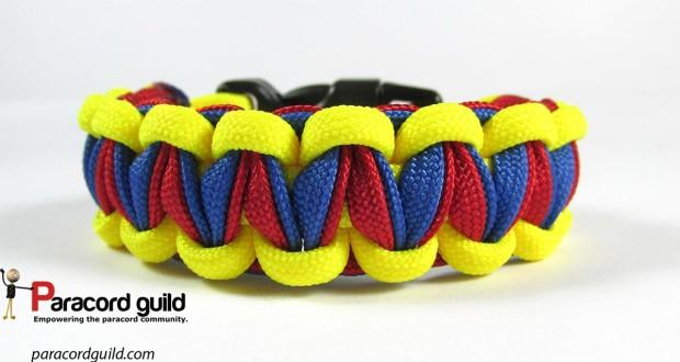 twisted cobra paracord bracelet