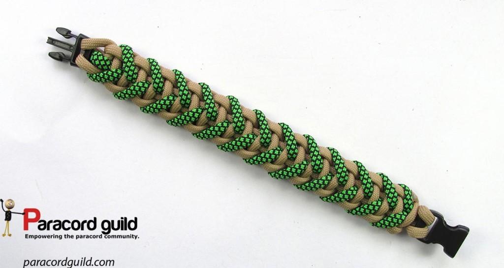 Bottom side of the bracelet.