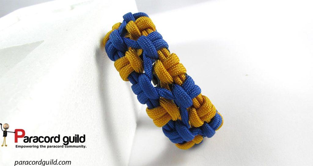 crossed-sennit-paracord-bracelet