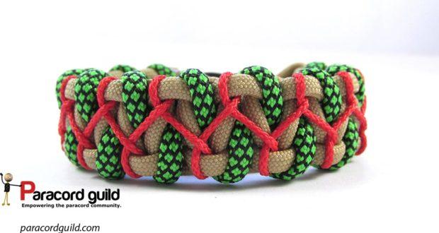 stitched caged solomon bracelet