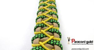 stitched-caged-solomon-bracelet-pattern-yellow