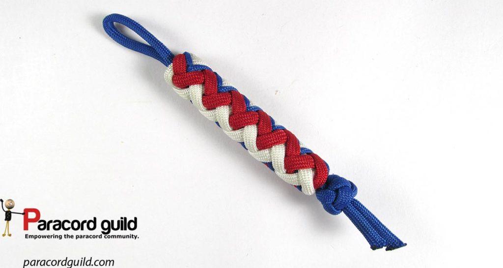3-color-paracord-key-fob-gaucho-fan-knot