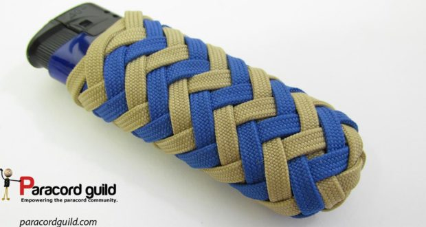 pineapple knot paracord lighter