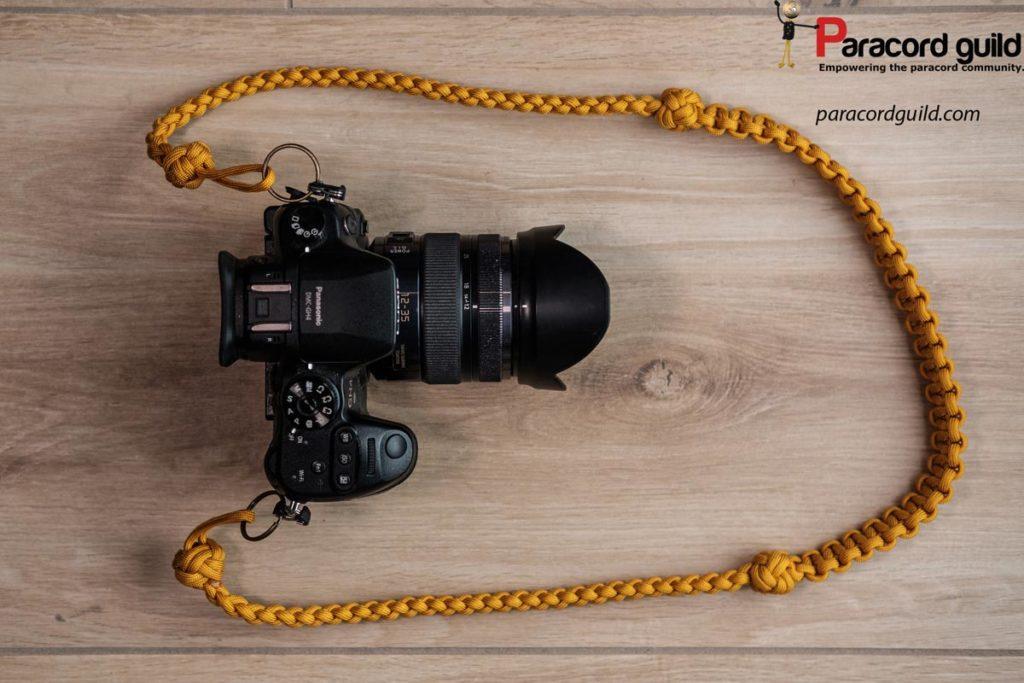 paracord-camera-neck-strap-yellow
