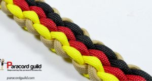 german flag bracelet weave