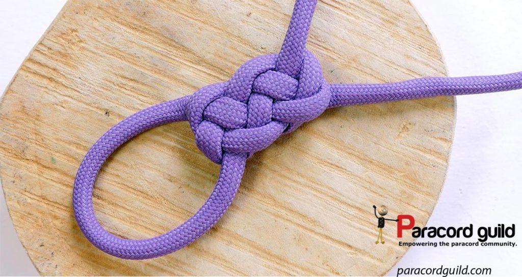 purple flat gaucho knot
